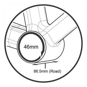 Pressfit BB386 Ø46mm